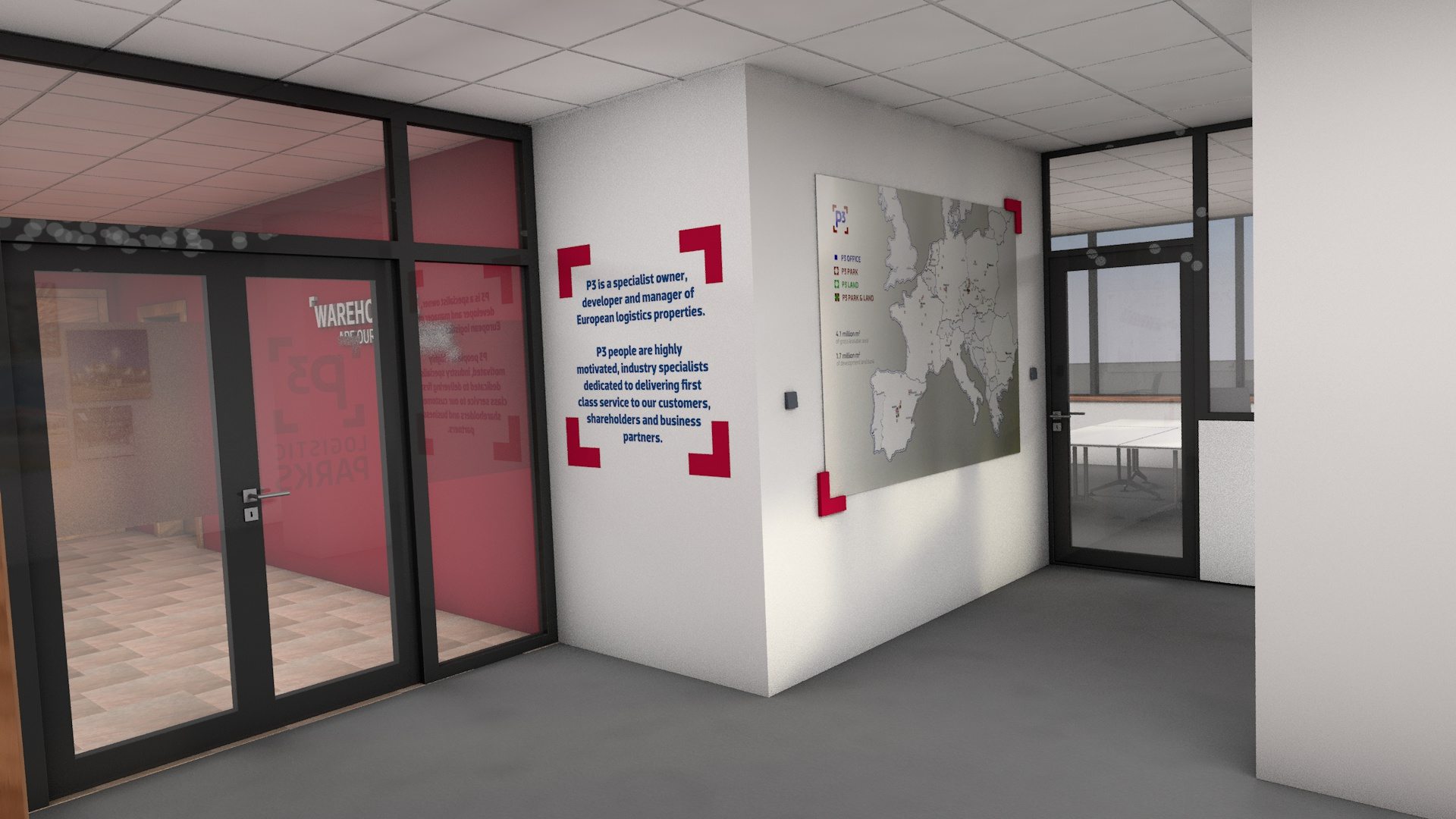 A1 5 OFFICE mapa