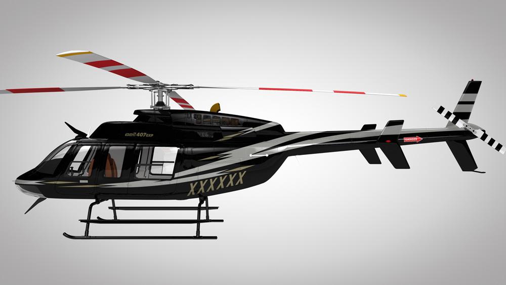 Bell 407 belgie 1