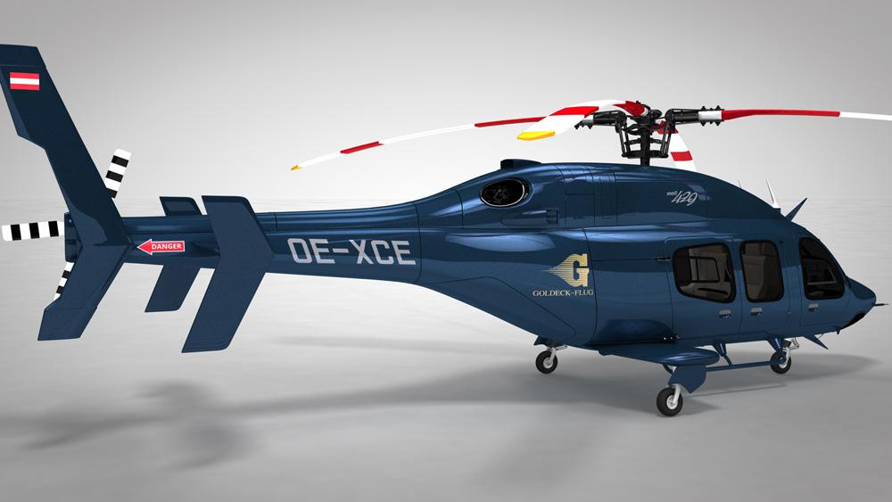 Bell 429 3D 3